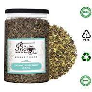 The Indian Chai - Organic Peppermint Herbal Tea Leaves 100g