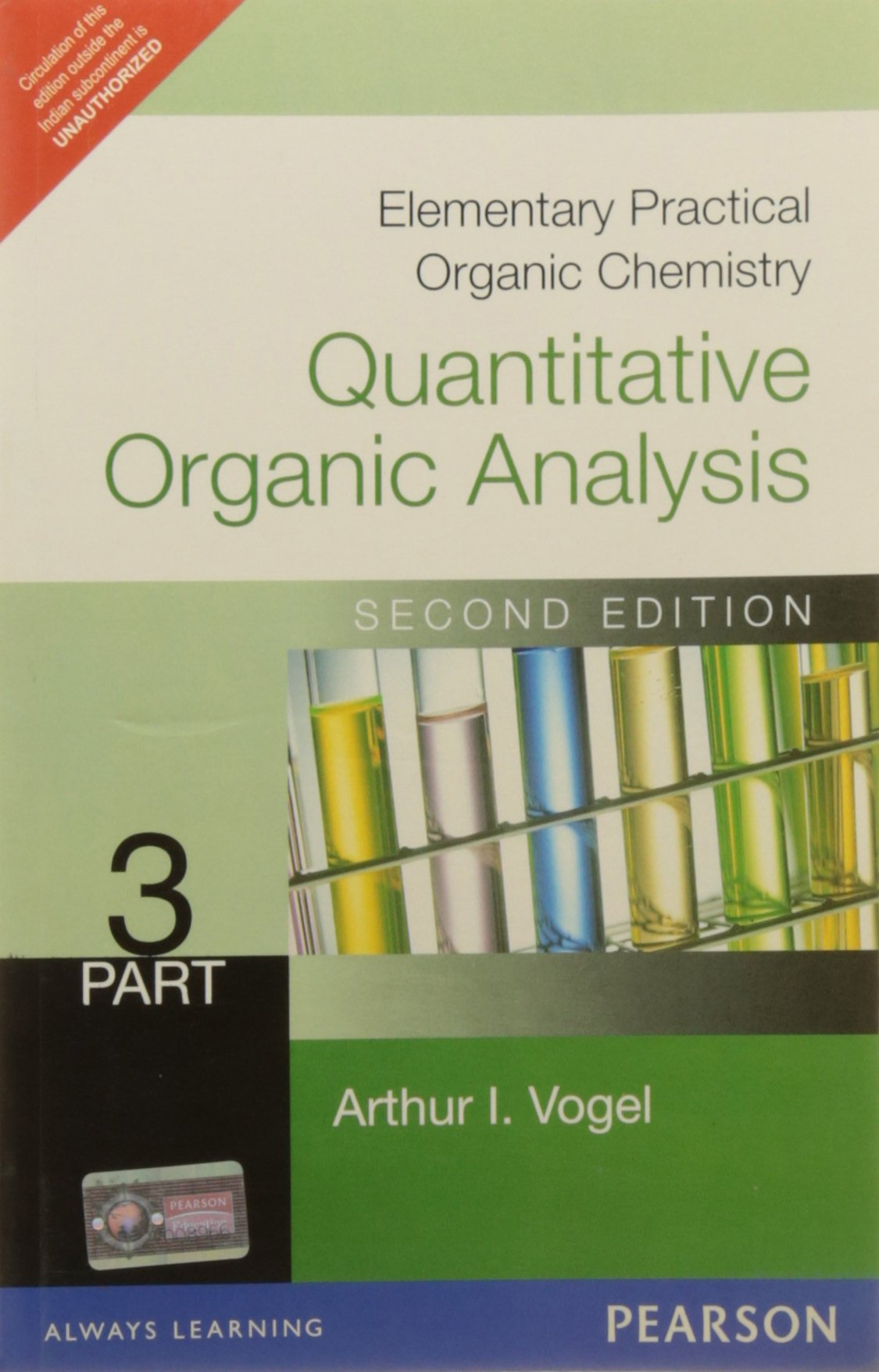 Vogel Analytical Chemistry Book