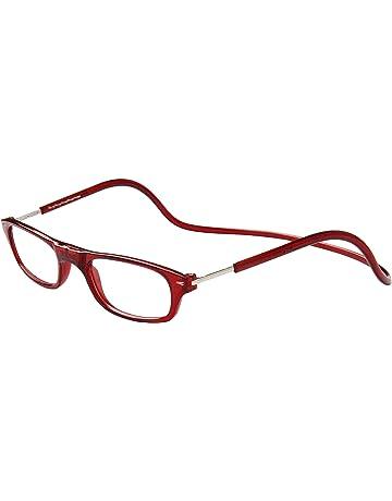 413180b588 TBOC Gafas de Lectura Presbicia Vista Cansada – Montura Burdeos Graduadas  +1.50 Dioptrías Hombre Mujer