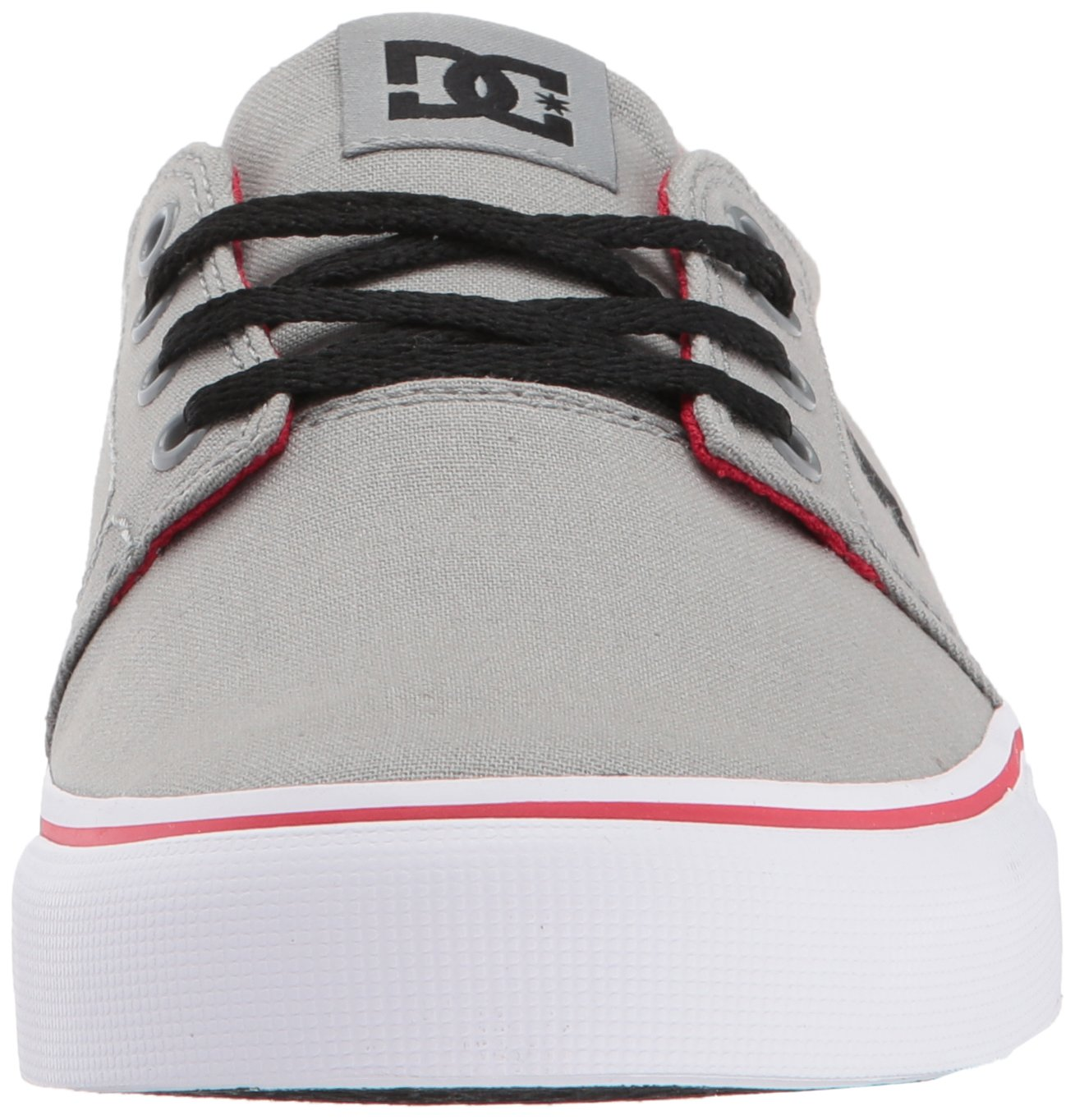 DC Men's Trase TX Unisex Skate Shoe B06Y5M24Z8 12 D D US|Grey/Red