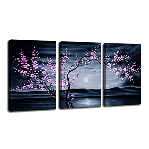 3 piece metal wall art canvas moyedecor art pieces modern canvas painting wall the picture for home decoration purple piece metal art amazoncom