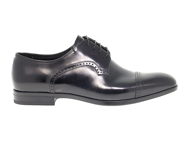 - FABI Men's FABIFU8770N Black Leather Lace-Up shoes