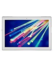 """Lenovo Tab4 10 Tablet, Display 10.1"""" HD, Processore Qualcomm Snapdragon 425, 16 GB Espandibili fino a 128 GB, RAM 2 GB, WiFi+LTE, Android 7.1.1, Bianco"""