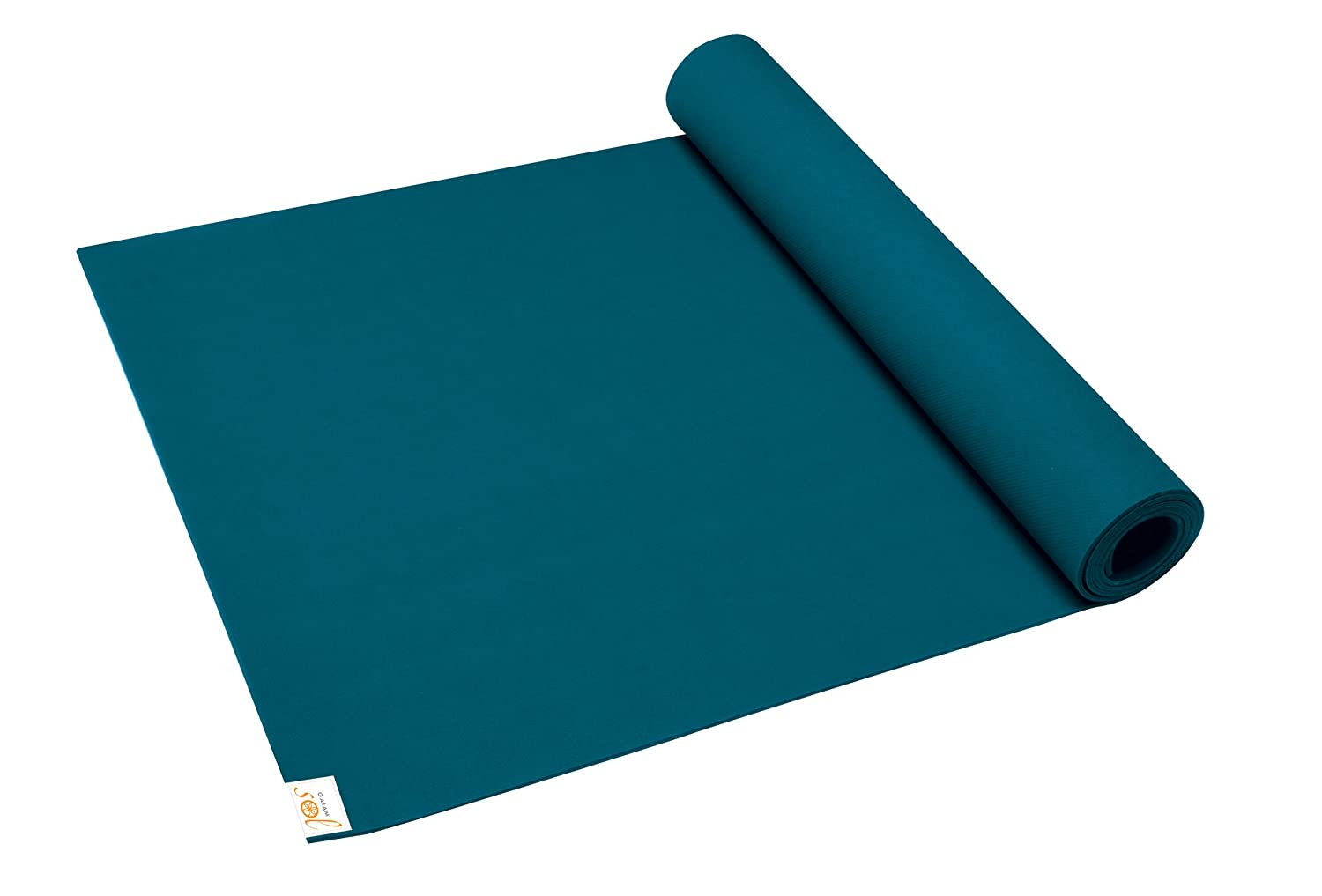 Gaiam Sol Power-Grip Yoga Matten (4 mm)