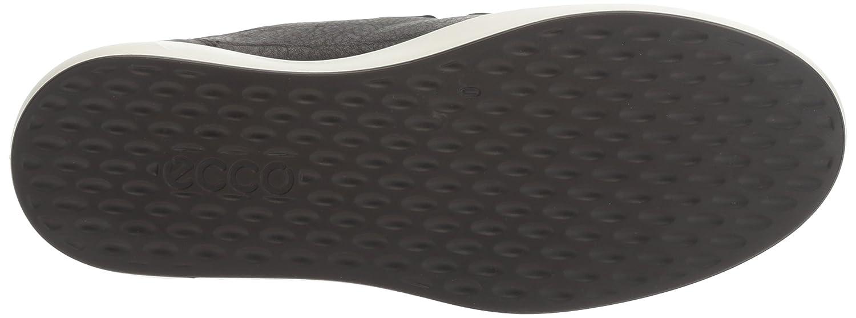 Ecco Damen Soft 8 Ladies Schwarz Sneaker Schwarz Ladies (1001schwarz) 61a737