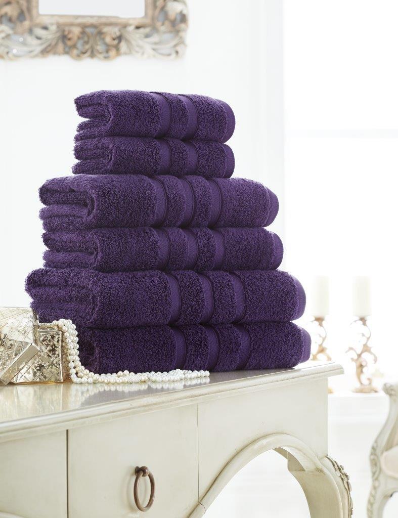 Dreams Gate Premium Handtuch, 100% ägyptische Baumwolle, 600 g m², weich und saugfähig, Handtuch, Badetuch-Set, Schwarz, 12er-Pack B07JMY86DG Sets