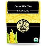 Buddha Teas Organic Corn Silk Tea   18 Bleach-Free Tea Bags   Supports Urinary Tract Health   Natural Source of Vitamins and