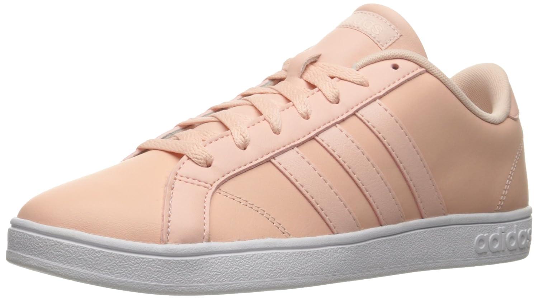 adidas Women's Baseline Fashion Sneaker B01A1FQYEY 9 M US|Vapour Pink/White