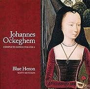 Ockeghem: Complete Songs, Vol. 1