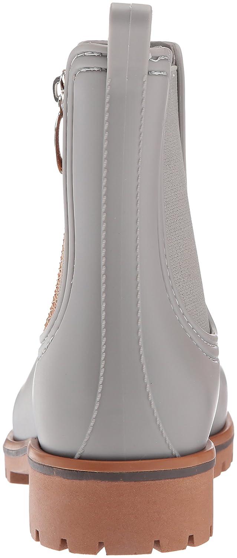 Bernardo B06XYV9TZB Women's Zip Rain Boot B06XYV9TZB Bernardo 10 B(M) US Grey Rubber 18a569