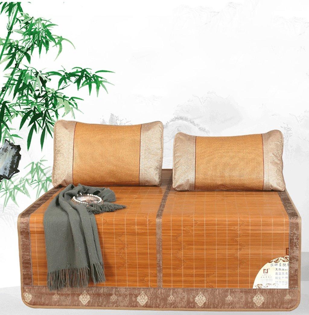 Bambus-Schlafmatten Einzel- und Doppelmatten können gefaltet werden 1.5 M Student Bambusmatten (zwei Größen optional)