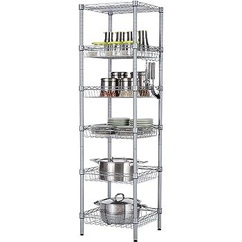 Amazon Com Singaye Storage Shelves 6 Tier Wire Storage