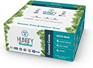 NEW Hungry Buddha Keto Bars - The Low Sugar, Low Net Carb, Plant-Based Bar Snack made with Clean Ingredients [Coconut Cocoa;