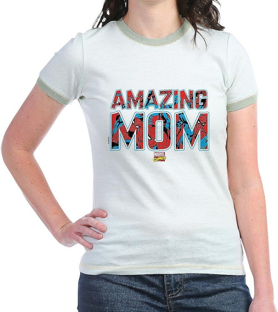 Spider Man Mom Ringer 4293 Shirts