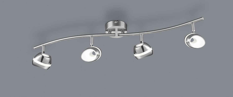 Trio Leuchten Seilsystem, Integriert, 2.5 W, Nickel matt, 13.5 x x x 500 x 14.5 cm dd09a9
