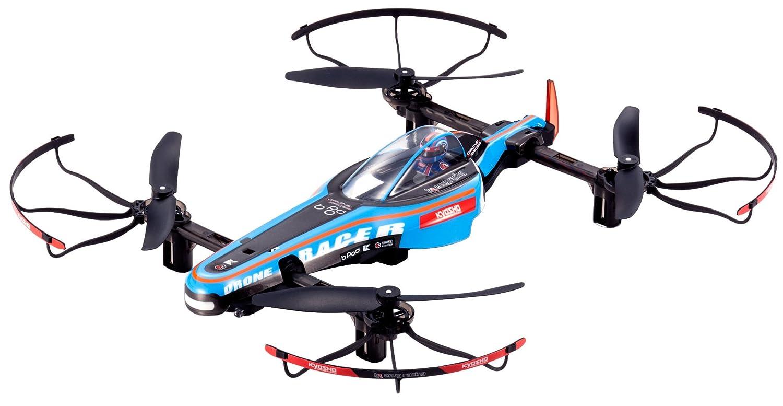 Kyosho Mini Flugzeuge RC Racing Drone, Electric Blau