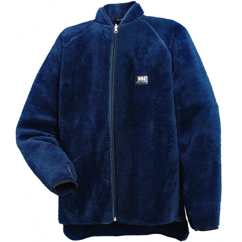 Bleu Marine Taille  M Helly Hansen 72262 - Veste de travail en polaire effet fourrure Réversible - bleu marine - Taille  3XL