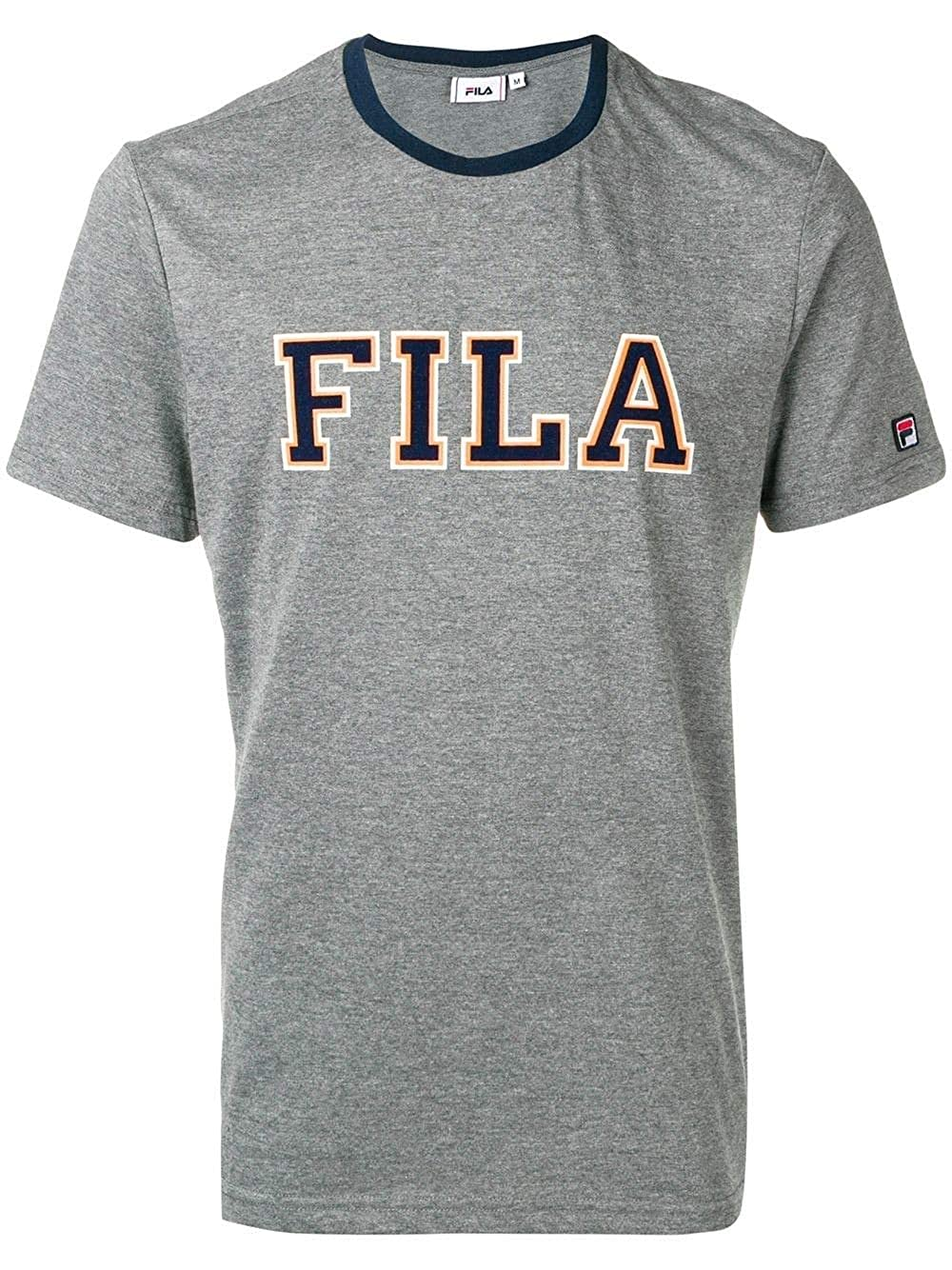 XL Fila Luxury mode Homme 687005V10 gris T-Shirt   Printemps été 19