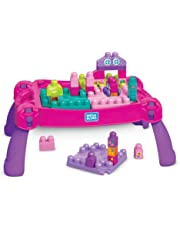 Mega Bloks Build N' Learn Table - Pink