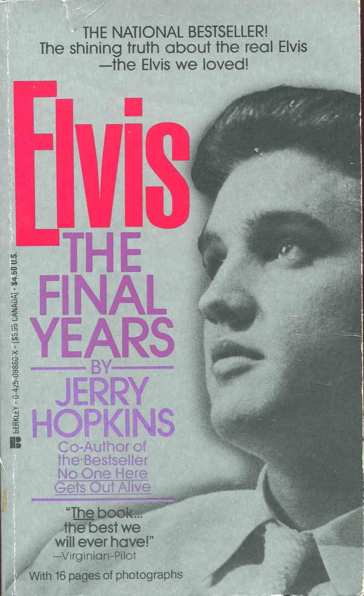 Elvis: The Final Years: Amazon.es: Hopkins, Jerry: Libros en ...