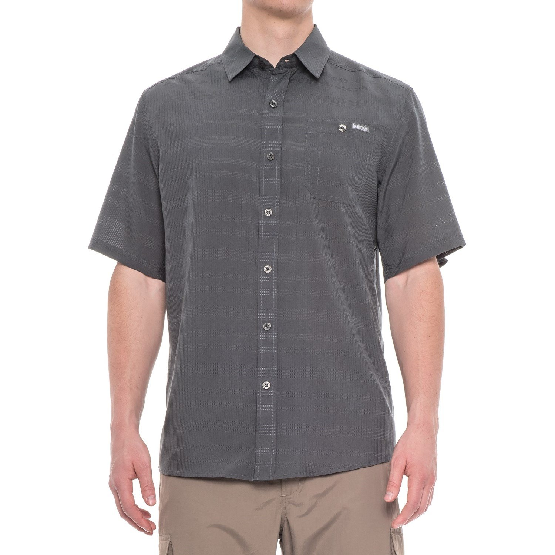 Flint Large Pacific Trail Mens Short Sleeve Air Permeable Shirt Shirt