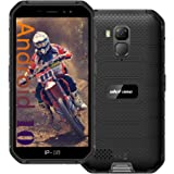Ulefone Armor X7 Pro (2021) Unlocked Rugged Phones, Android 10 Quad-core 4G+32GB ROM, 13MP+5MP Dual Camera 5.0 inch HD Screen