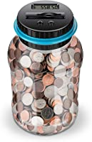 Lefree 數字計數錢罐,大豬存錢罐,兒童小豬存錢罐,儲錢罐,可容納 800,2AAA 電池(不含)