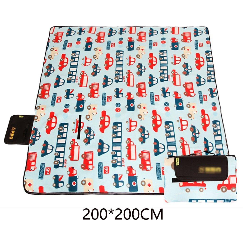 ZXLDP Mantas de de de Picnic Alfombras de Picnic Engrosar a Prueba de Humedad Pad Lawn Camping Picnic Cloth(200  200CM) Accesorios para Tiendas de Campaña (Color : B) 3e56fe