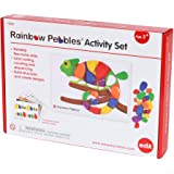 Rainbow Pebbles - 13206 Edx Education Activity Set - Sorting and Stacking - Construction - Early Math Activity, 48 Pebbles an