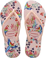 Sandália Slim Tropical Floral, Havaianas, Feminino