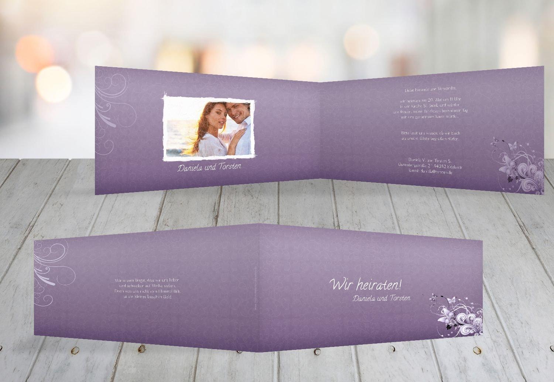 Kartenparadies Hochzeitskarte Hochzeit Einladung Einladung Einladung Din Liebeswunder, hochwertige Einladung zur Heirat inklusive Umschläge   10 Karten - (Format  215x105 mm) Farbe  RosaRosa B01N36BGRL | Ausgezeichnete Leistung  | Zahlreiche In Vielfalt  | Jeder besch a805bb