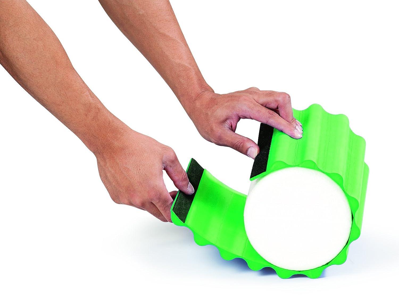 Thera-Band Foam Roller Wrap, Grün, Firm
