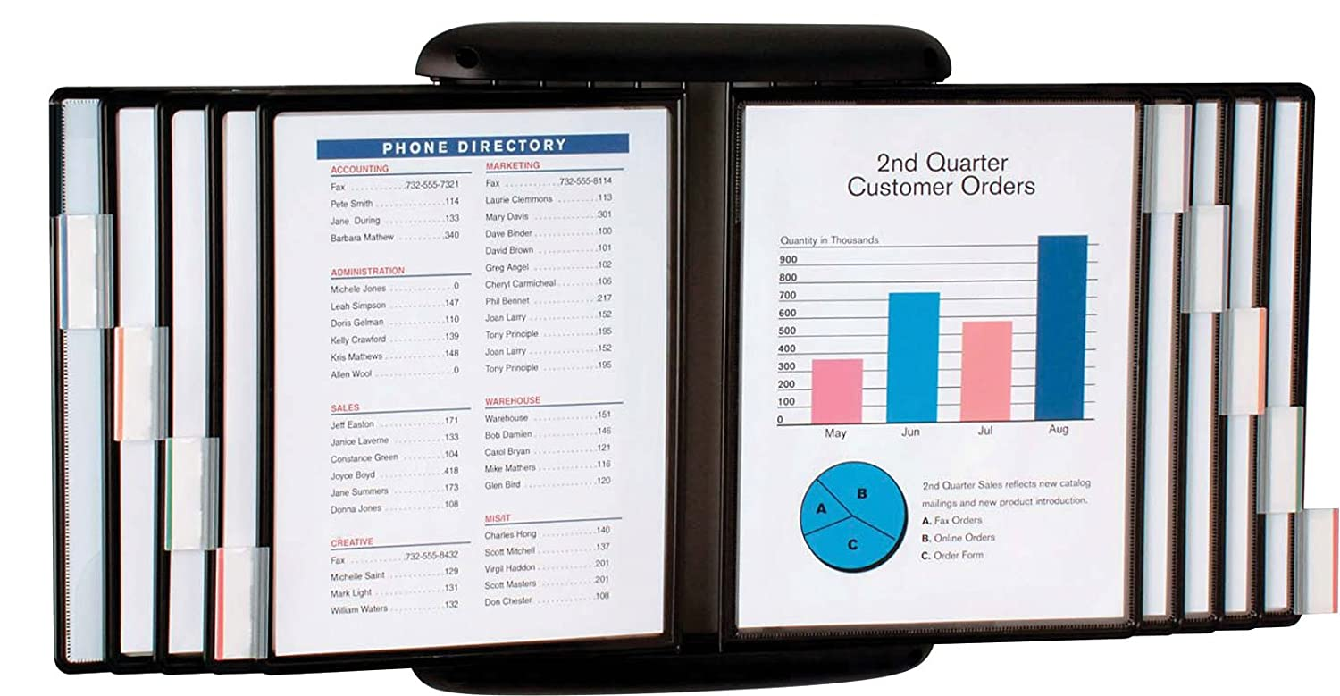 Find Document Wall Swinging Page Display