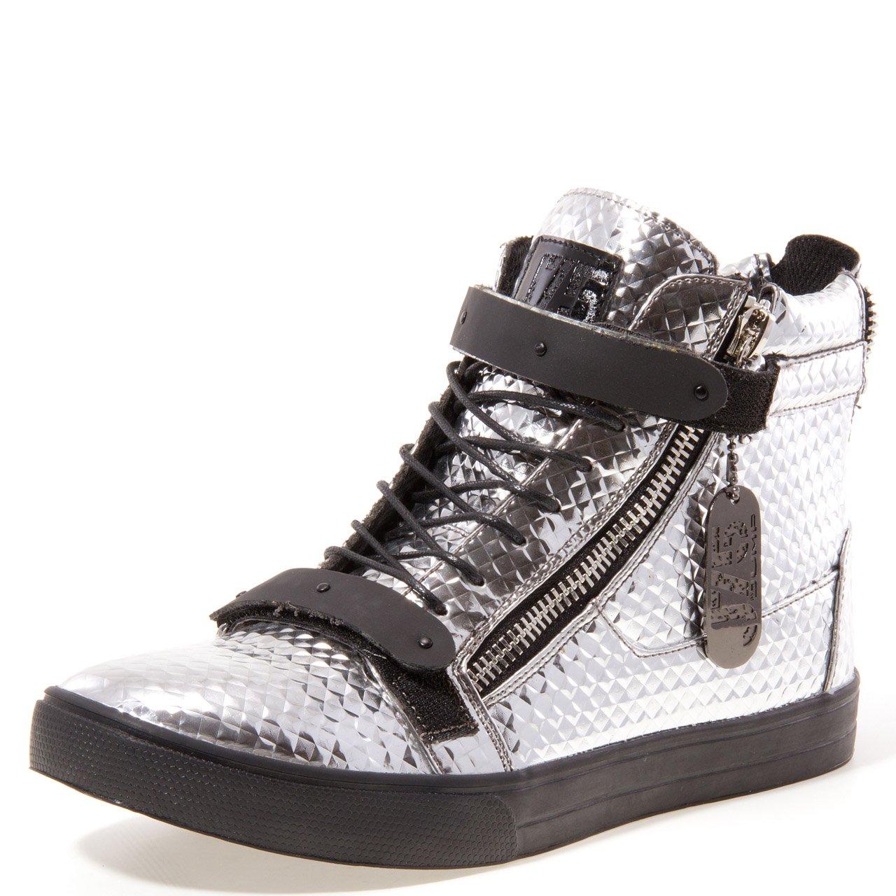 Silver JUMP Mens Zion Sneaker