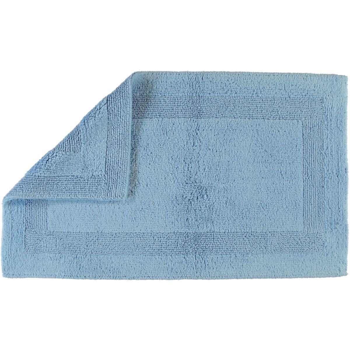 Cawö Wendeteppich Luxus 1000 Mittelblau - 188 Größe 60 x 100