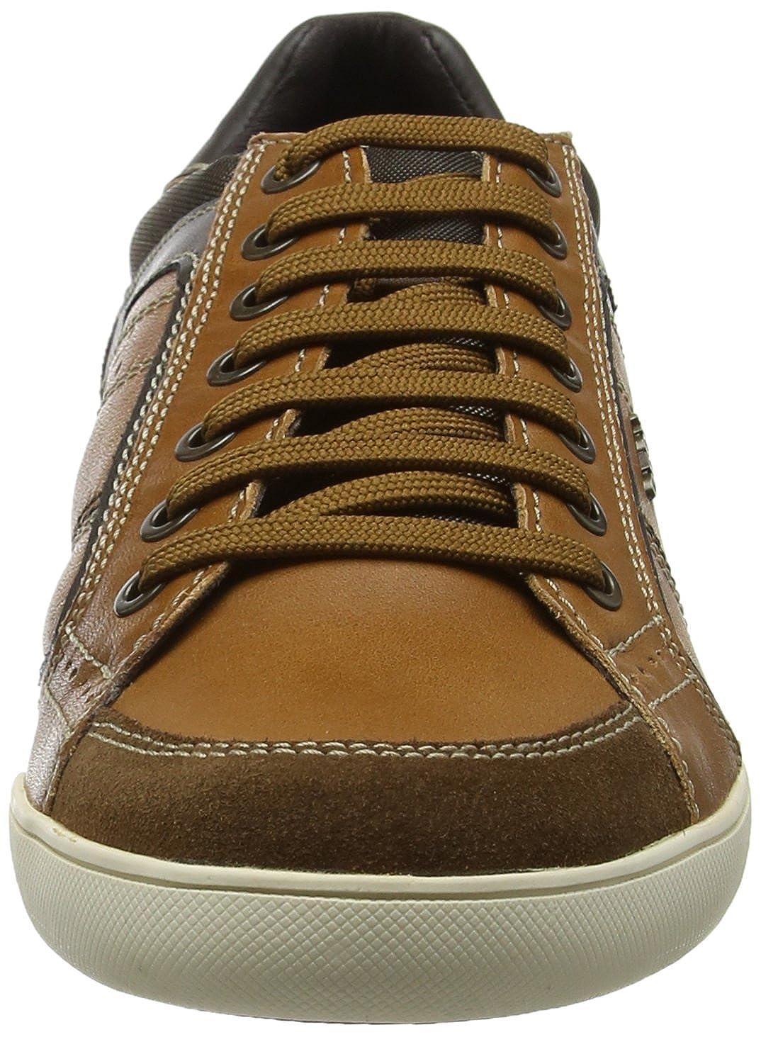 Geox Men's U Kristof Sneakers 39 EU/6 M US|Cognac/ US|Cognac/ M Browncotto B07719PQ9Q 74ecf3