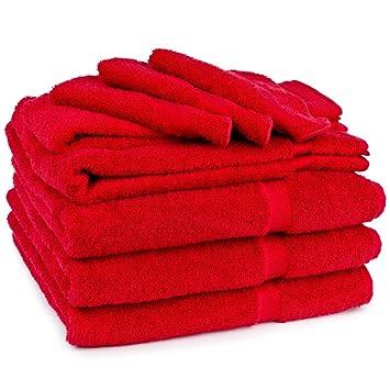 Cambridge Serviette Soft Touch Lot de 9 pièces, 1 serviette de bain ...