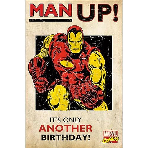 Marvel Birthday Cards Amazon
