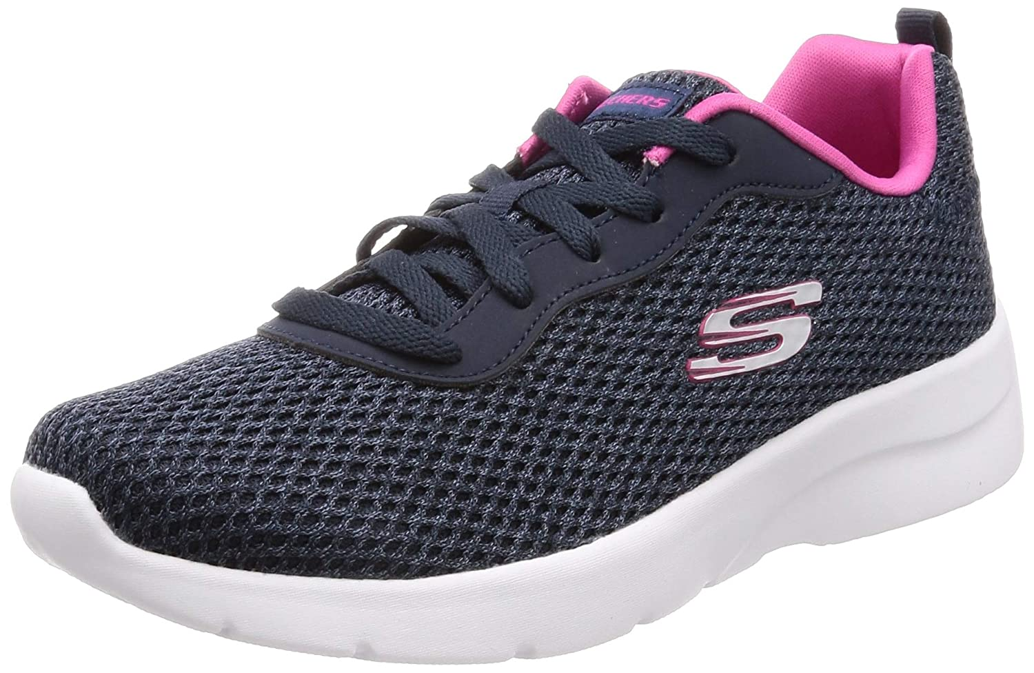 NAVY HOT PINK Skechers Womens Dynamight 2.0-Quick Concept Sneakers