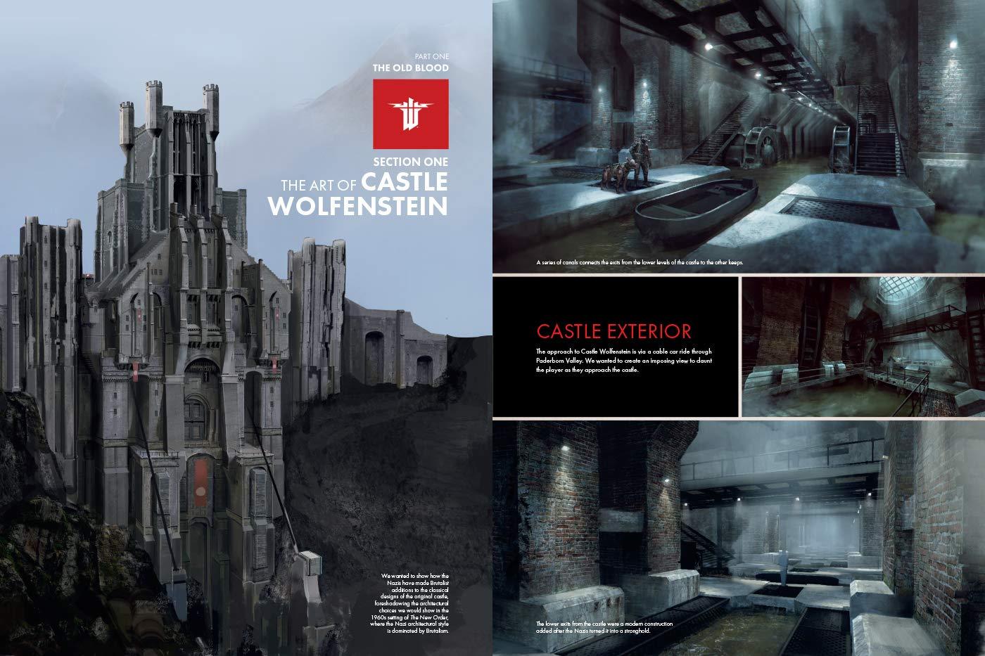 آرت بوک wolfenstein youngblood -کتاب بازی ولفنشتاین