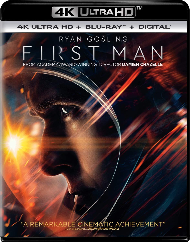 4K Blu-ray : First Man (With Blu-ray, 4K Mastering, Digital Copy)