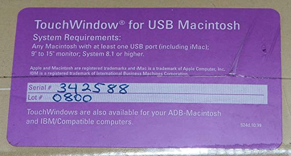 EDMARK TOUCHWINDOW USB TELECHARGER PILOTE