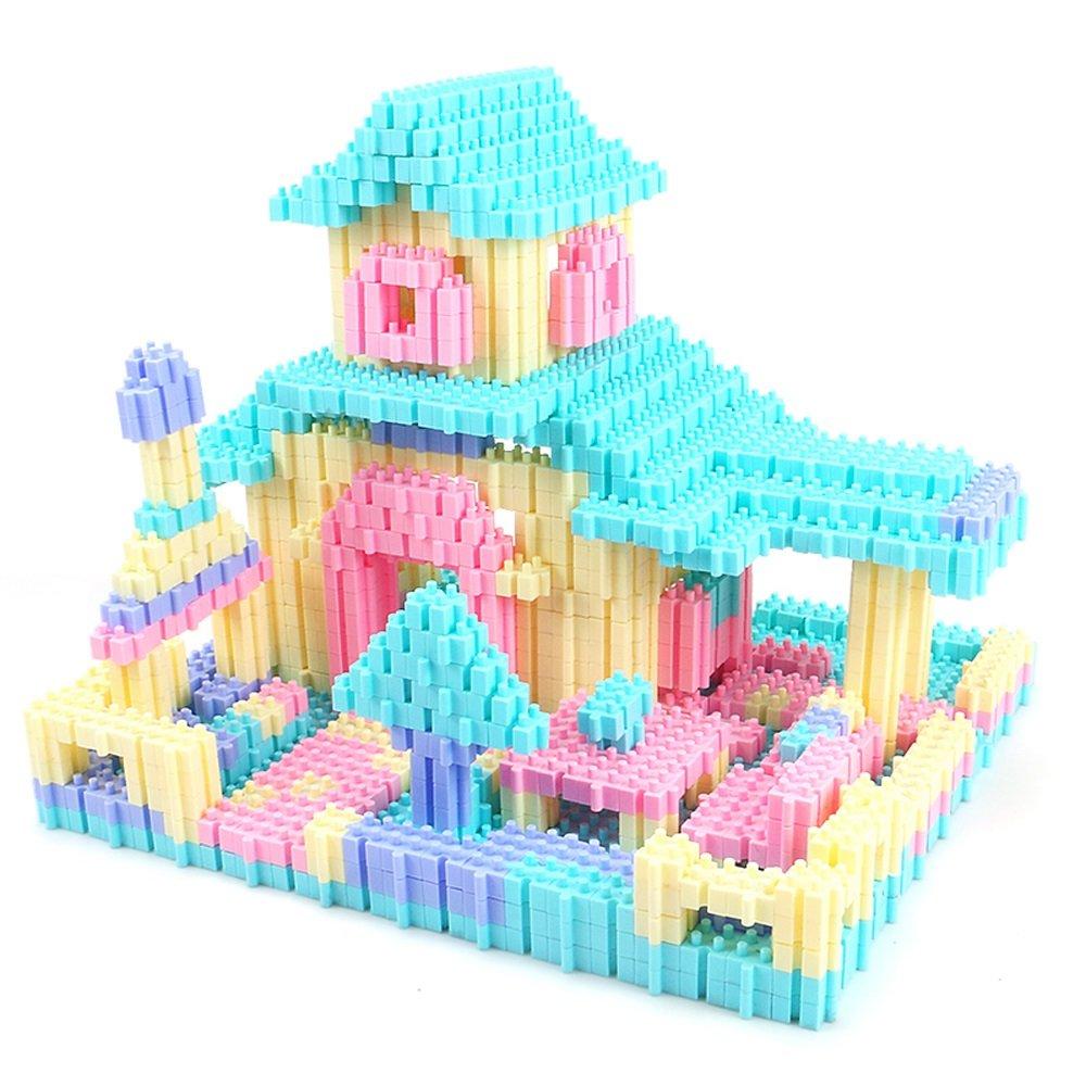 Kunststoff-Spielzeug-Blöcke für Kinderspielzeug-Sets, unendliche Formen und Designs (Farbe   900) B07FM8CK3B Bauklötze & Bausteine Schönes Aussehen | Exquisite (in) Verarbeitung