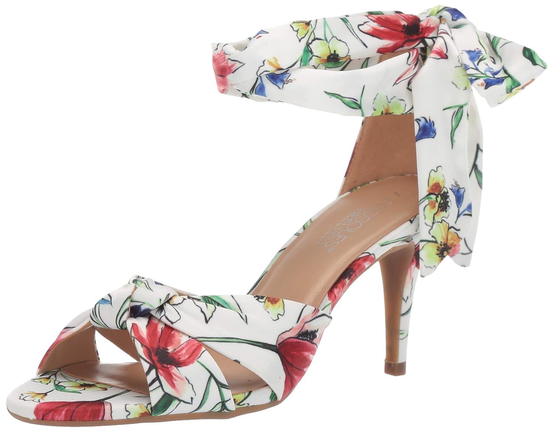Floral Combo Aerosoles Womens Market Heeled Sandal