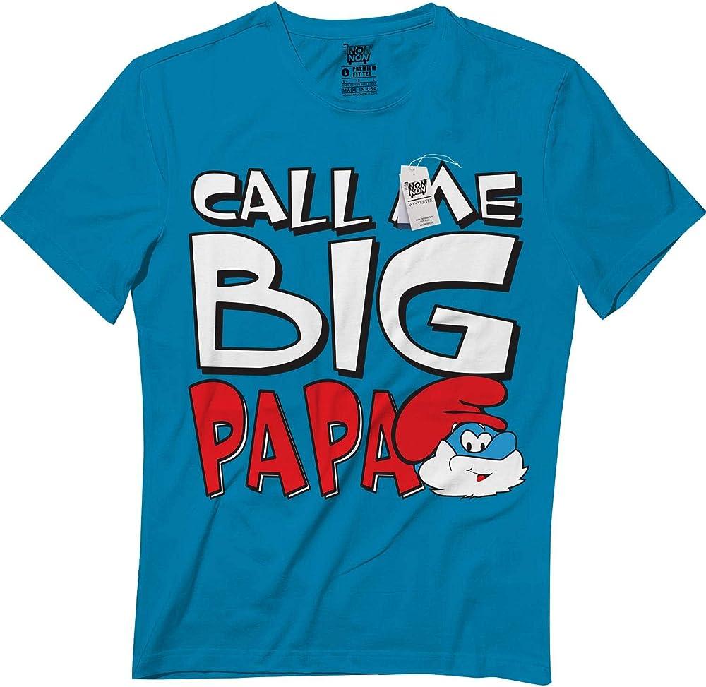 Call Me Papa Cute Halloween Smurf Shirts T Shirt