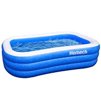 Homech Inflatable Swimming Pools, Inflatable Kiddie Pools, Family Swimming Pool,...