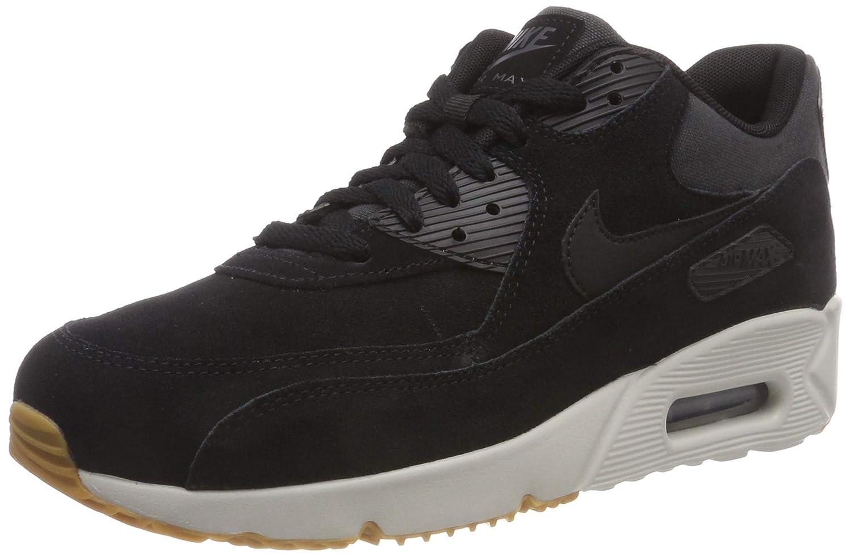 Mehrfarbig (schwarz schwarz Light Bone Gum Med braun 003) Nike Herren Air Max 90 Ultra 2.0 Ltr Fitnessschuhe, Schwarz, EU