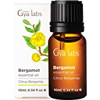 Gya Labs Bergamot Essential Oil - Mood Lifter for Sore Free Body & Fuller Hair (...