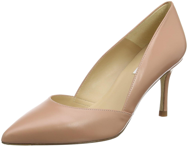 L.K. Bennett Elena, Zapatos de Tacón para Mujer 38 EU|Rosa (Pin-old Rose)