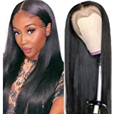 Beauty Forever 13x4 Lace Front Silky Straight Human Hair Wig 150% Density Human Hair Wigs With Baby Hair For Black Women Remy